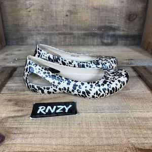 Crocs Leopard Comfort Flat